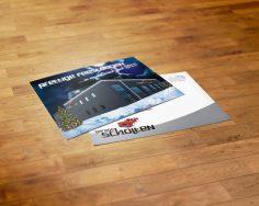 kerstkaart/verhuiskaart