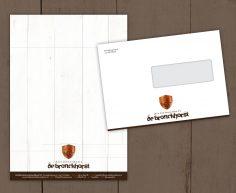 briefpapier + envelop