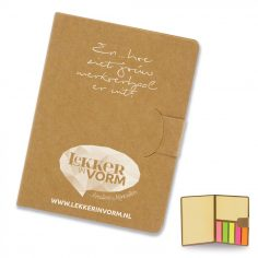 give-away notitieboekje