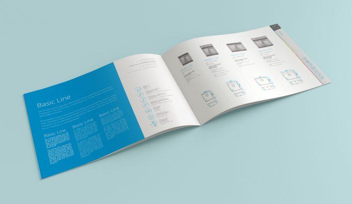brochure basic line