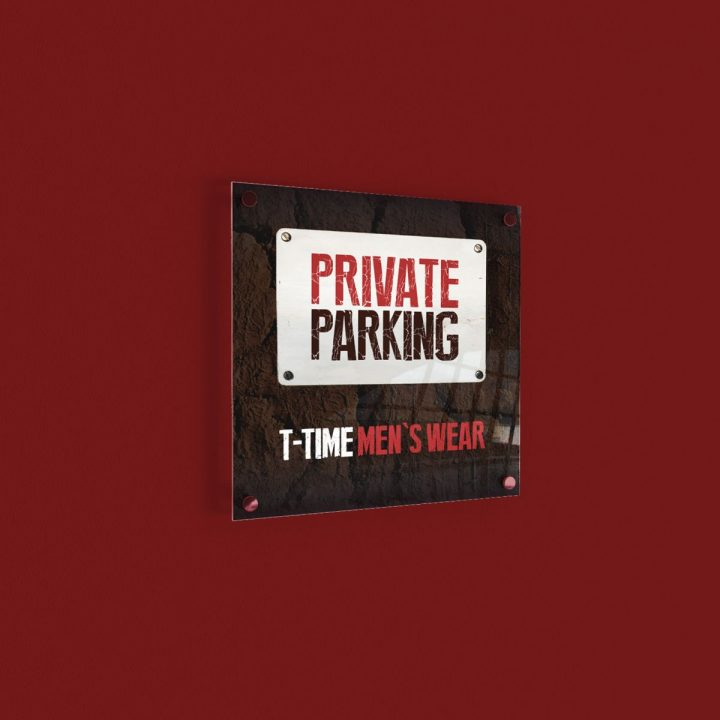 parkeerbord private parking
