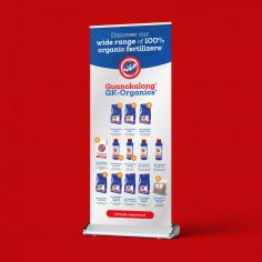 roll-up banner productrange