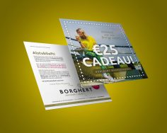 direct mailingkaart waardecheque