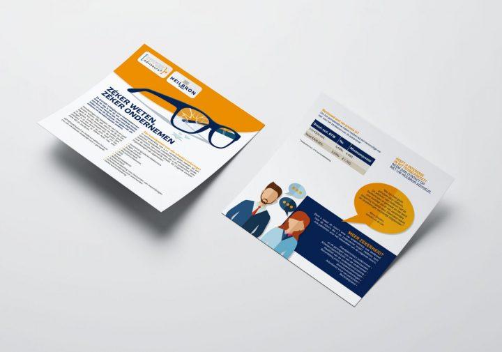 flyer optiekbranche