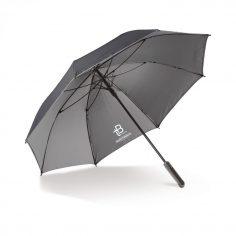 paraplu met logo aan binnenzijde