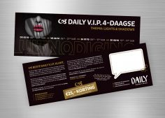 daily vip 4-daagse: lights & shadows