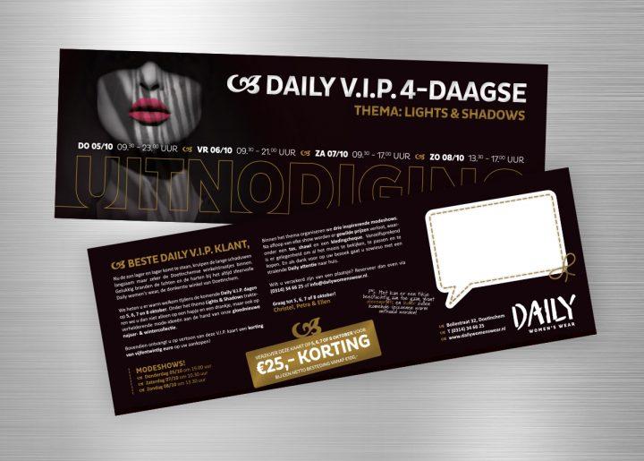 daily vip 4-daagse: lights & shadows