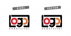 pixel of vector: logoles voor beginners