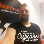 t-shirt cupcake!