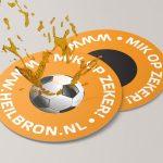 urinoirstickers voetbal