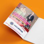 advertentie jaarbrochure schouwburg Amphion