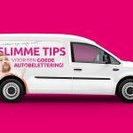5 slimme tips voor een goede autobelettering
