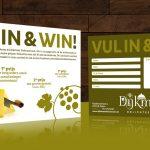vul in & win-actie